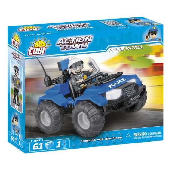 COBI 1547 Action Town Rendőr járőr ATV