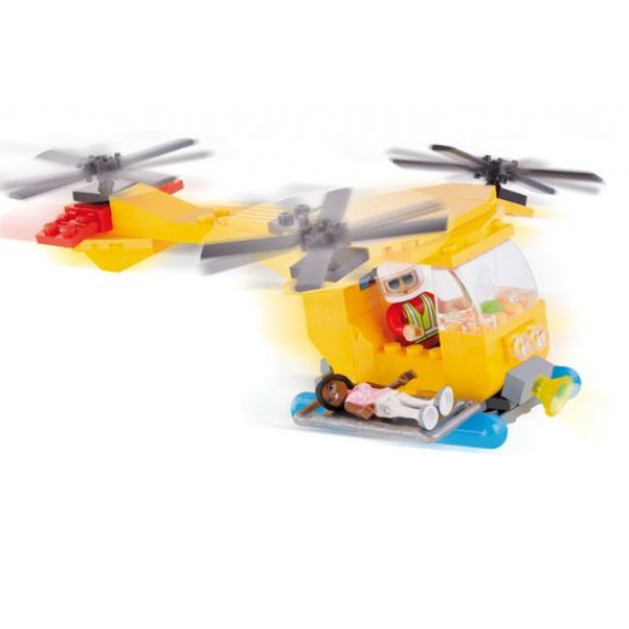 COBI 1767 Action Town Mentőhelikopter