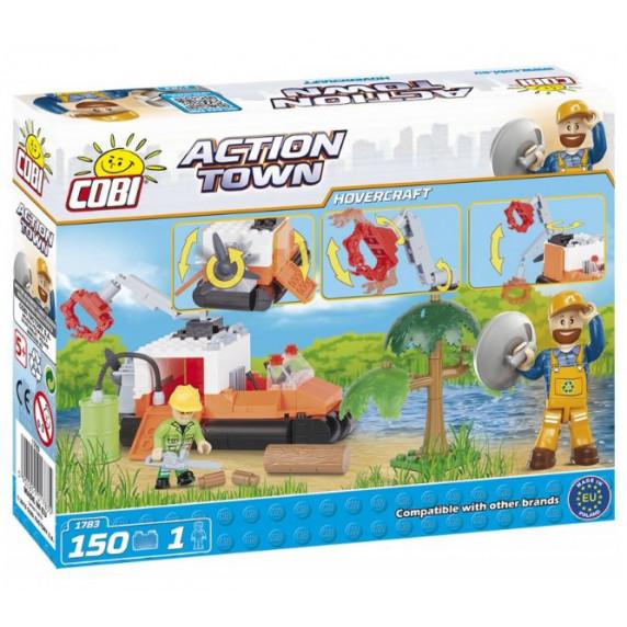 COBI 1783 Action Town Légpárnás takarító jármű