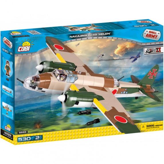 COBI 5533 II WW Nakajima Ki-49 Helen Japán bombázó