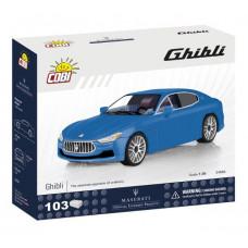 COBI 24564 Maserati Ghibli 1:35 Előnézet