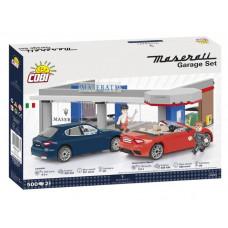 COBI 24568 Maserati Garázs 2 autóval 1:35 Előnézet