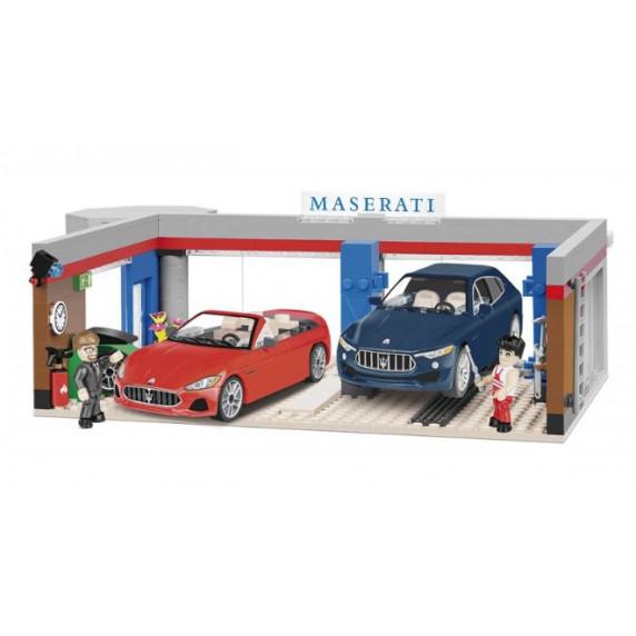 COBI 24568 Maserati Garázs 2 autóval 1:35