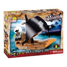 COBI 6019 Pirates Jack kalózhajója Előnézet