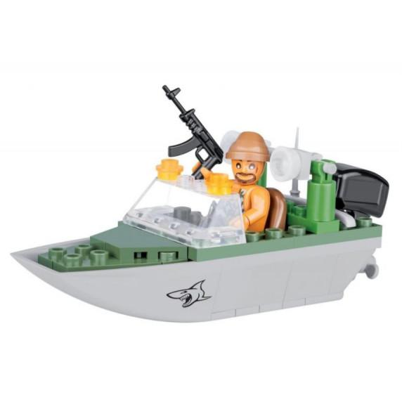 COBI 2154 Small Army Shark Katonai járőhajó