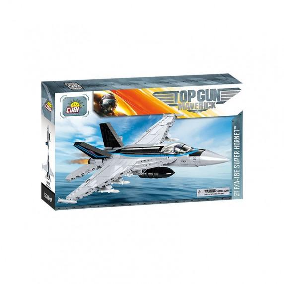 COBI 5805 TOP GUN F/A-18E Super Hornet Vadászrepülőgép