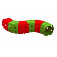Játszó alagút 240x151x51 cm Inlea4Fun - piros/zöld