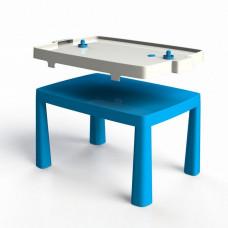 Műanyag gyerekaszal léghokival Inlea4Fun EMMA - Kék Előnézet