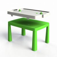 Műanyag gyerekaszal léghokival Inlea4Fun EMMA - Zöld