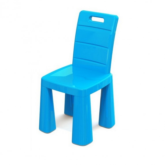 Műanyag gyerekszék Inlea4Fun EMMA - Kék