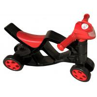 Lábbal hajtós kismotor Inlea4Fun - Fekete/piros