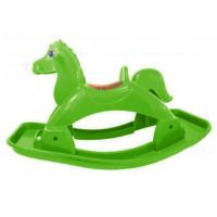 Műanyag hintaló Inlea4Fun - Zöld