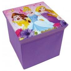 Játéktároló doboz és puff Hercegnők FUN HOUSE Előnézet