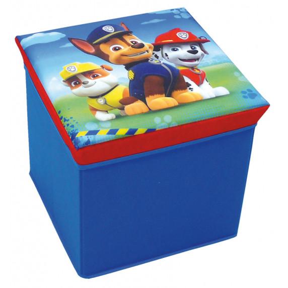 Játéktároló doboz és puff Mancs őrjárat FUN HOUSE 712538