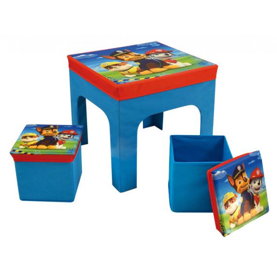 Játéktároló doboz és asztal Mancs őrjárat FUN HOUSE 712649