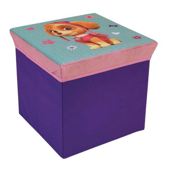 Játéktároló doboz és puff Mancs őrjárat Sky FUN HOUSE 712726