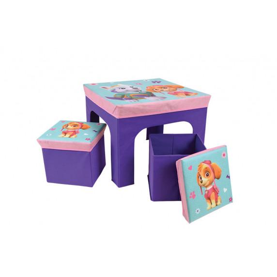 Játéktároló doboz és asztal Mancs őrjárat FUN HOUSE 712745