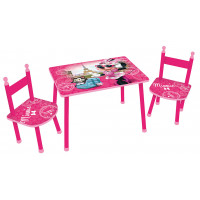 FUN HOUSE gyerekasztal székekkel Minnie - 712885