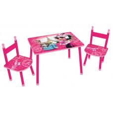 FUN HOUSE gyerekasztal székekkel Minnie - 712885 Előnézet