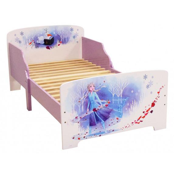 Gyerekágy leesésgátlóval Jégvarázs II Frozen FUN HOUSE 713185