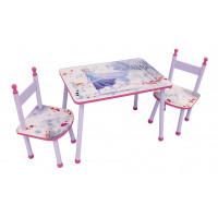 Gyerekasztal székekkel Jégvarázs II Frozen FUN HOUSE 713187