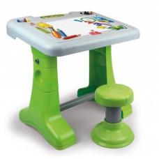 CHICOS Rajzasztal székkel - Zöld/fehér Előnézet
