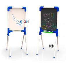 Kétoldalas rajz és mágnestábla CHICOS Junior Előnézet