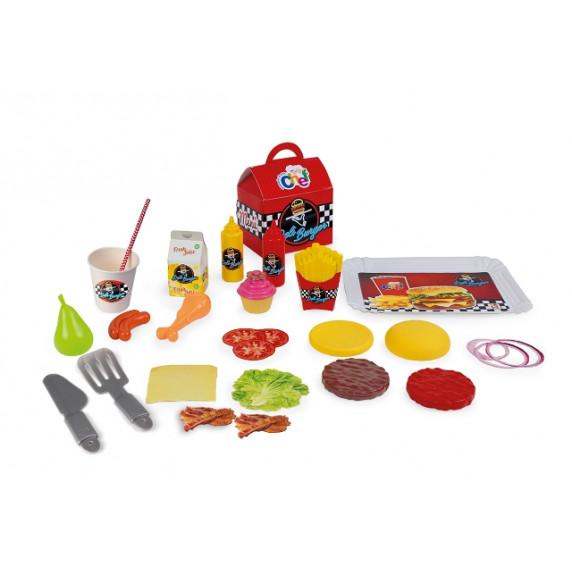 Mini játék hamburgerező CHICOS