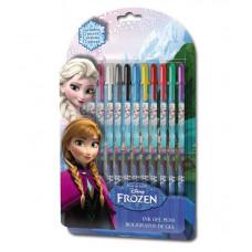 Kids Licensing FROZEN zselés toll készlet 12 db Előnézet