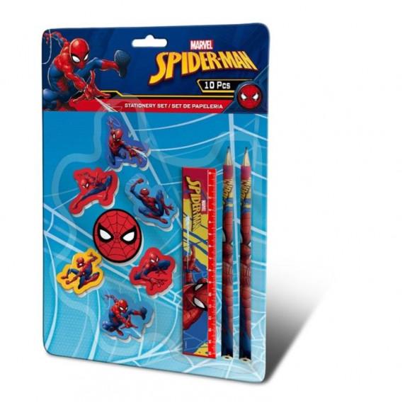 Kids Licensing SPIDERMAN írókészlet 10db
