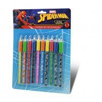 Kids Licensing SPIDERMAN színesceruza készlet 10db