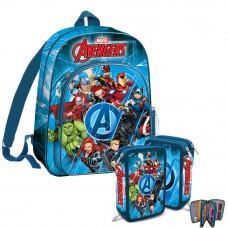 Kids Licensing -Avengers-iskolai szett 2020-hátizsák, tolltartó Előnézet