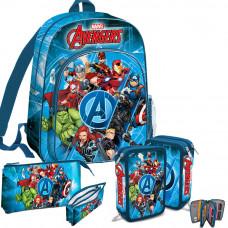 Kids Licensing -Avengers-iskolai szett 2020-hátizsák, tolltartókkal Előnézet