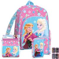 Kids Licensing Jégvarázs Frozen iskolai szett 2020 PINK - hátizsák, tolltartó, tornazsák