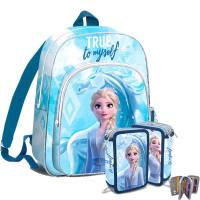 Kids Licensing Jégvarázs Frozen iskolai szett 2020 TRUE - hátizsák, tolltartó