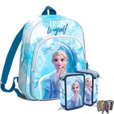 Kids Licensing Jégvarázs Frozen iskolai szett 2020 TRUE - hátizsák, tolltartó Előnézet