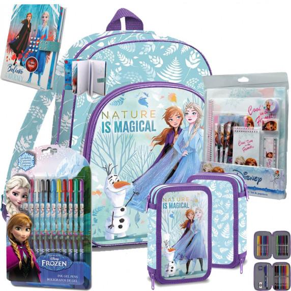Kids Licensing Jégvarázs Olaf Frozen iskolai szett 2020