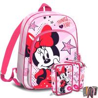 Kids Licensing MINNIE iskolai szett - hátizsák, tolltartó