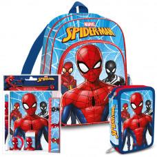 Iskolai szett Kids Licensing Pókember 2021 - hátizsák, tolltartó, füzet készlet Előnézet