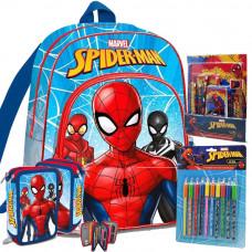 Kids Licensing -Pókember-iskolai szett 2020-világos kék II Előnézet