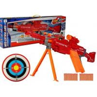 Sniper szivacslövő fegyver tölténnyel Fire Storm
