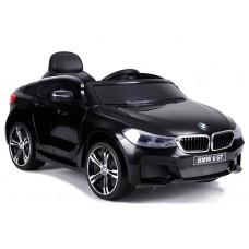 BMW 6 GT elektromos kisautó - fekete Előnézet
