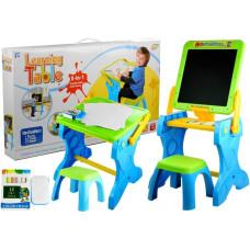 Multifunkciós rajzasztal 2v1 székkel Inlea4Fun LEARNING TABLE  Előnézet