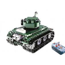 Inlea4Fun RC DETECH Építőkészlet távirányítós tank Előnézet