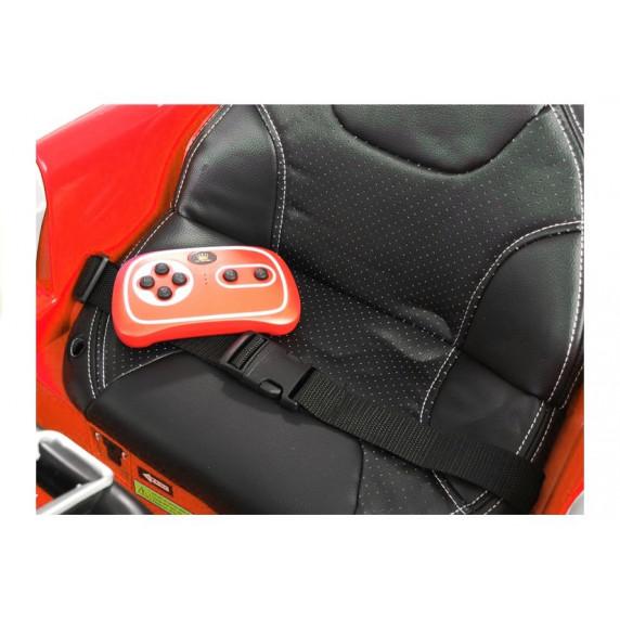 AUDI Quatro TT RS EVA elektromos kisautó - piros