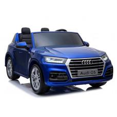 AUDI Q5 elektromos kétszemélyes kisautó - kék lakkozott kivitelben Előnézet