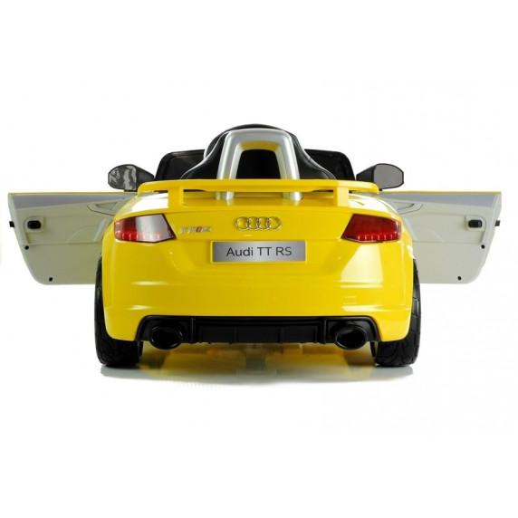 AUDI Quatro TT RS EVA elektromos kisautó - sárga
