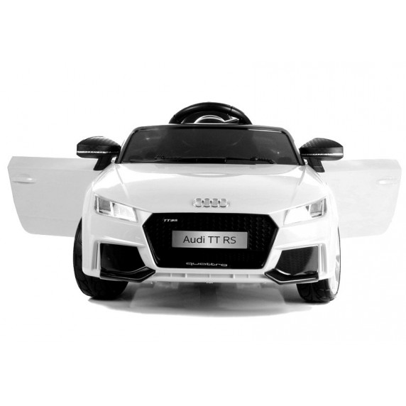 AUDI Quatro TT RS EVA 2.4G elektromos kisautó - fehér