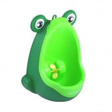 Béka formájú mini piszoár - Zöld Előnézet