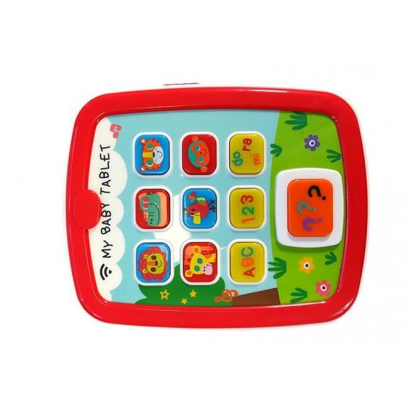 Játék tablet babáknak HOLA